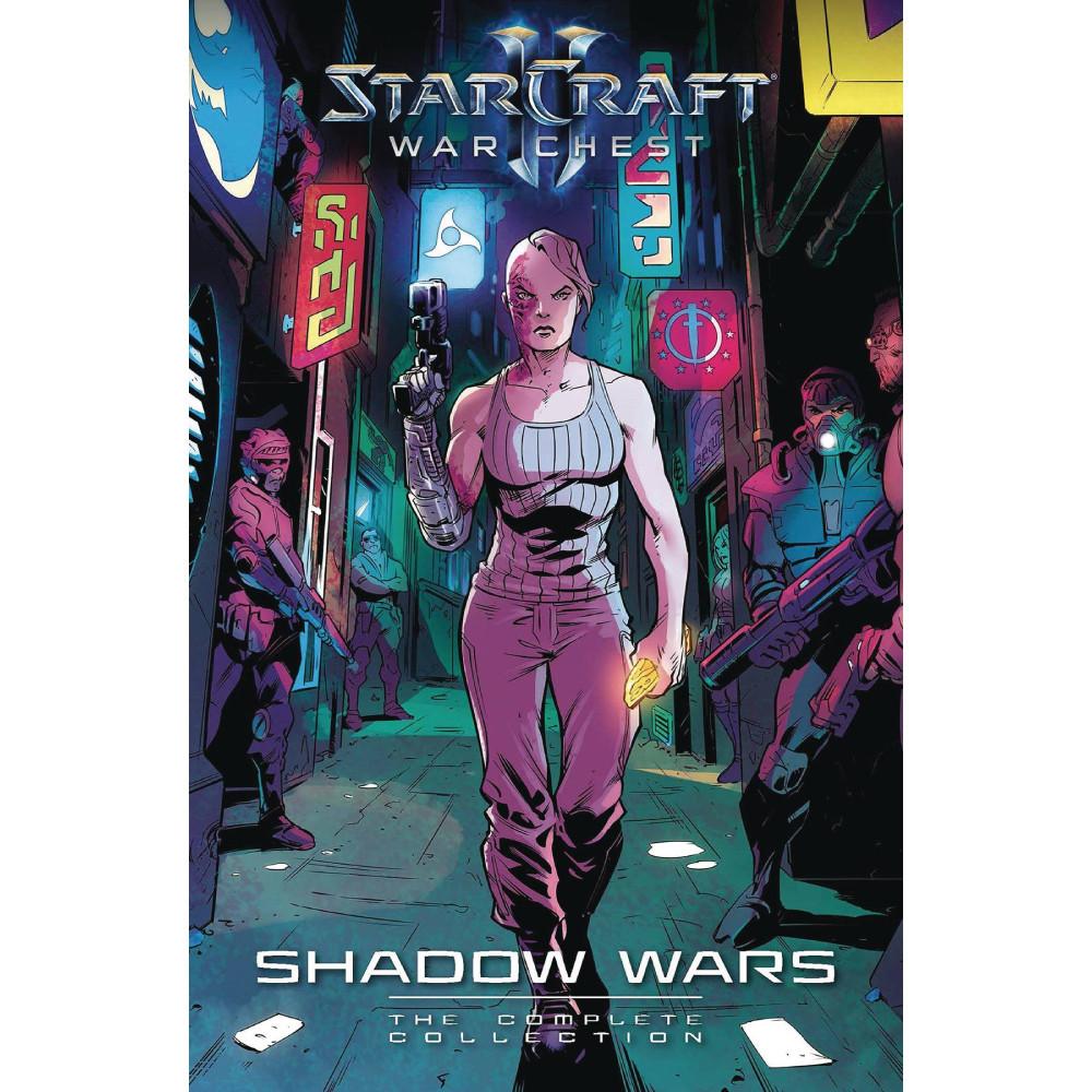 Starcraft Warchest Shadow Wars Complete Collection