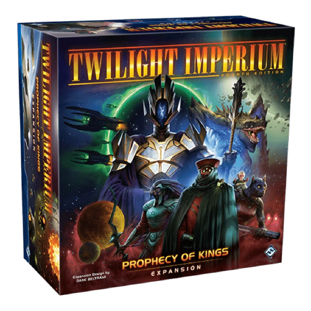Pre-Comanda Twilight Imperium Prophecy of Kings Expansion