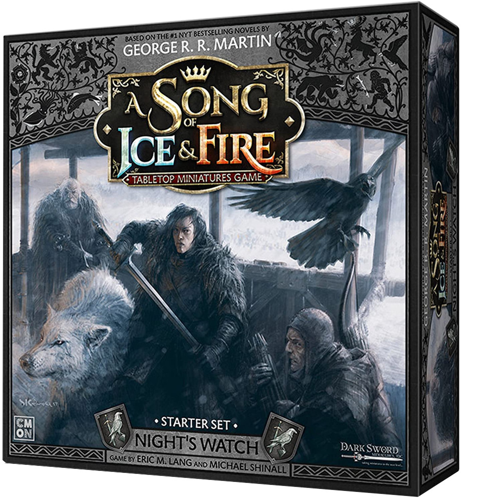 A Song Of Ice and Fire Night's Watch Core Box