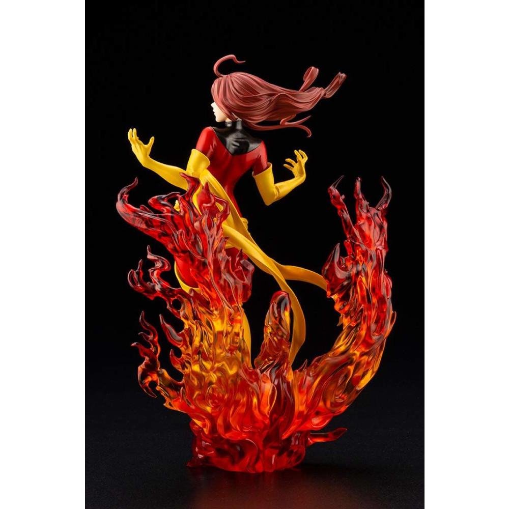 Figurina Marvel Dark Phoenix Rebirth Bishoujo - 1