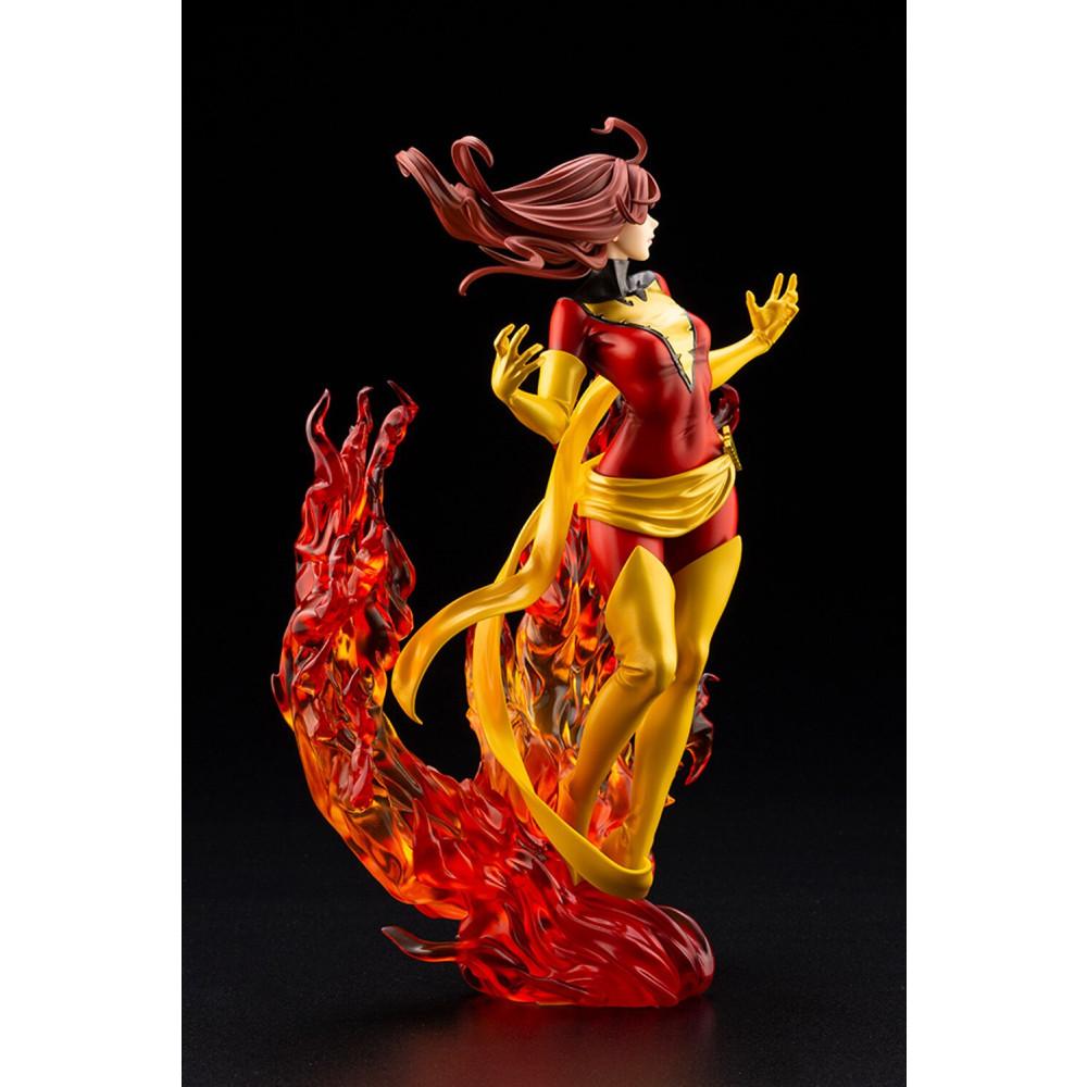 Figurina Marvel Dark Phoenix Rebirth Bishoujo - 2