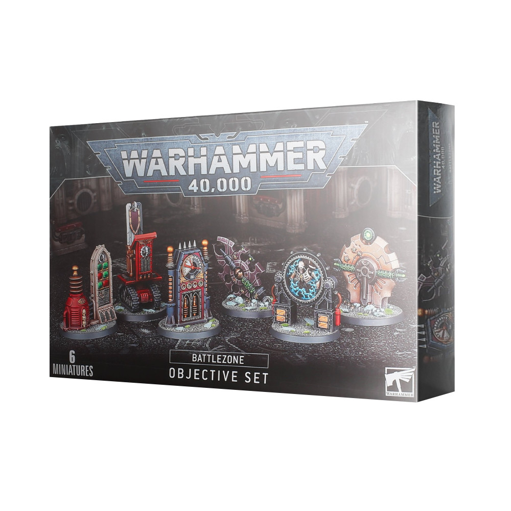 Warhammer 40.000 Battlezone Objective Set