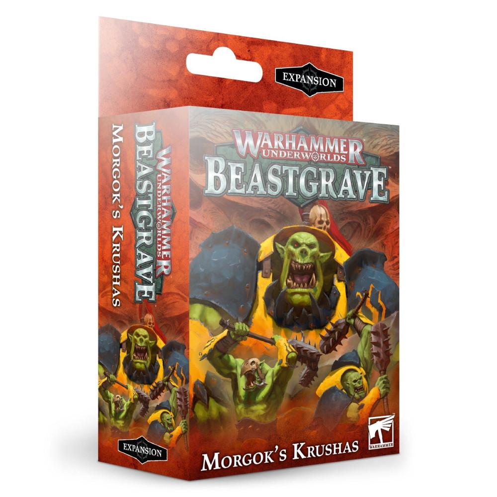 Warhammer Underworlds Beastgrave Morgok's Krushas