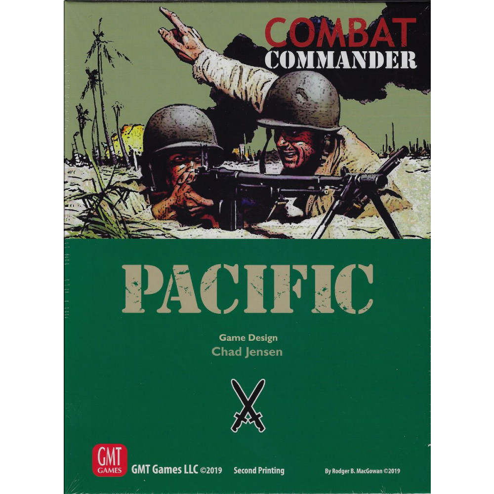 Combat Commander Pacific (2nd Printing)