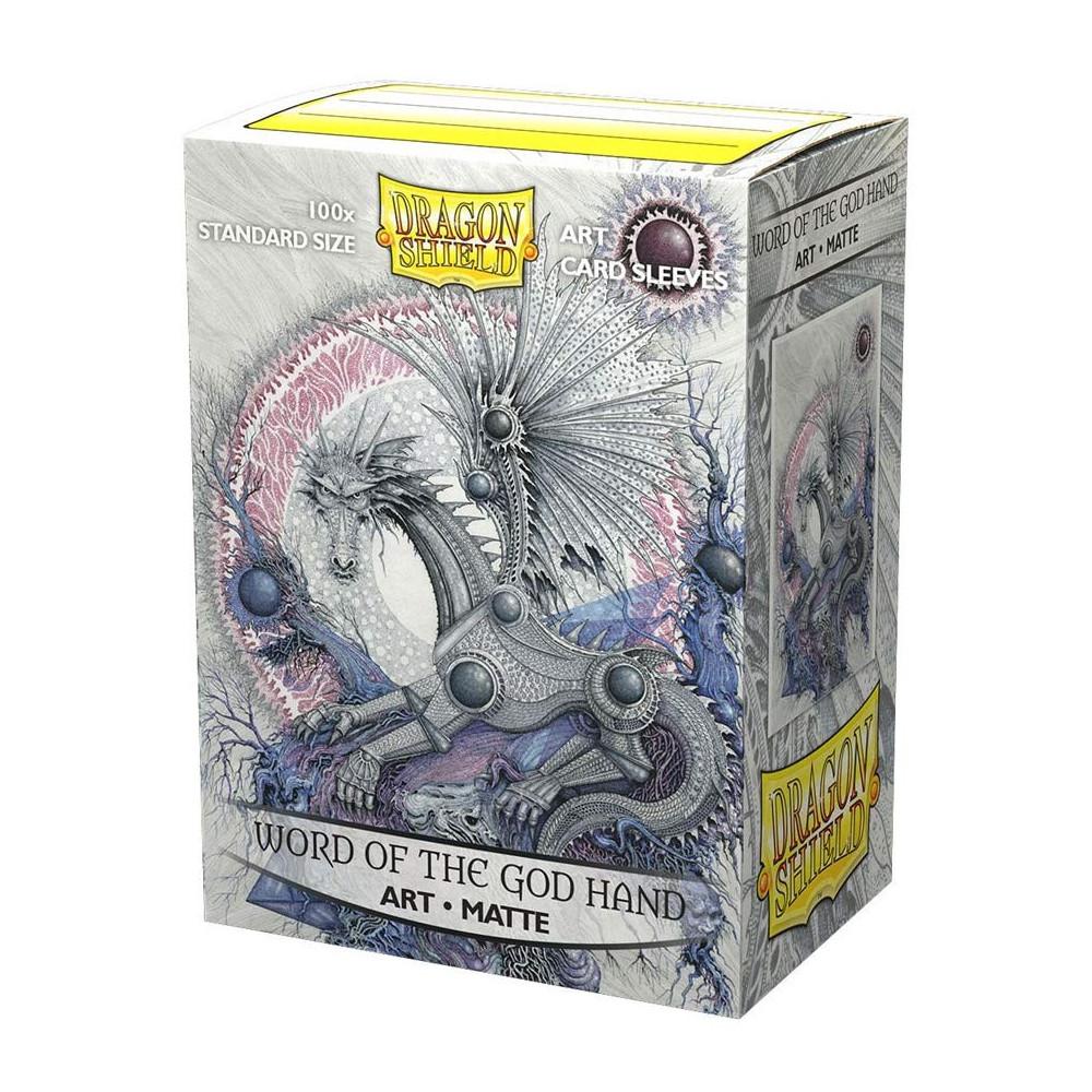 Sleeve-uri Dragon Shield Matte Art Sleeves Word of the God Hand 100 Bucati