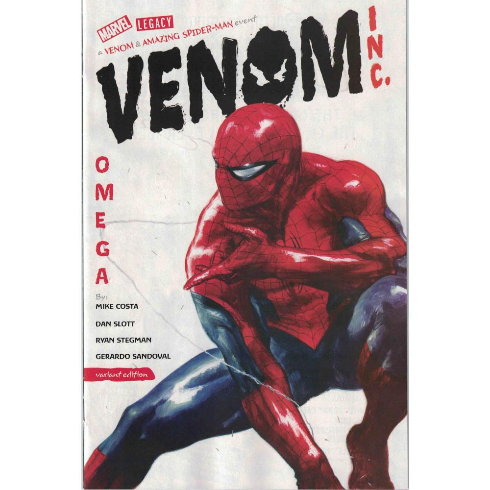 Amazing Spider-Man Venom Inc Omega 01 1:50 Dell'Otto Variant