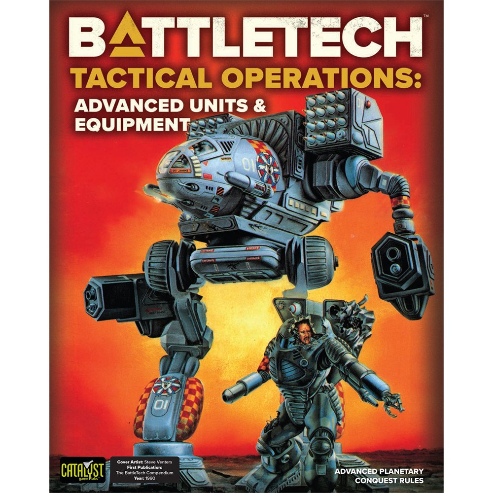 Battletech Tactical Operations Advanced Units & Equipment
