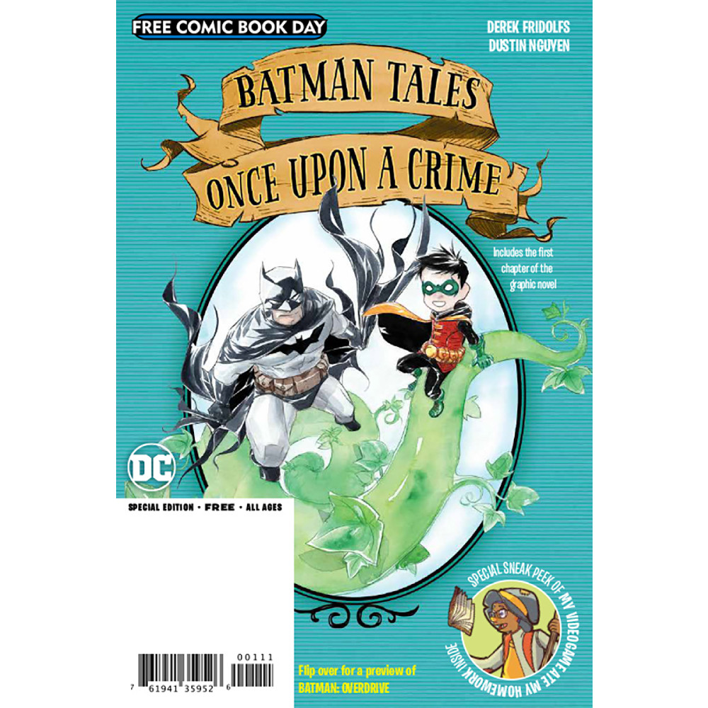 FCBD 2020 Batman Overdrive Once Upon A Crime Flipbook