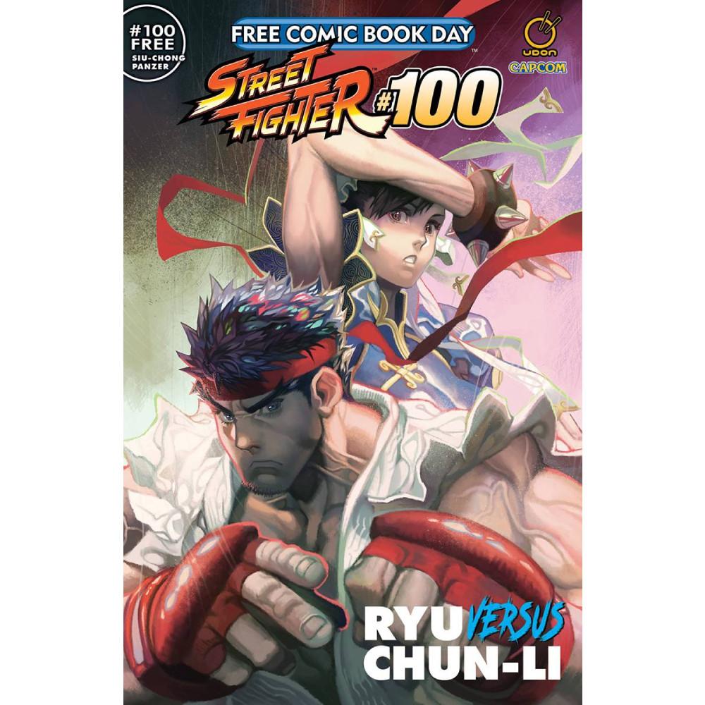 FCBD 2020 Street Fighter 100 Ryu Vs Chun Li
