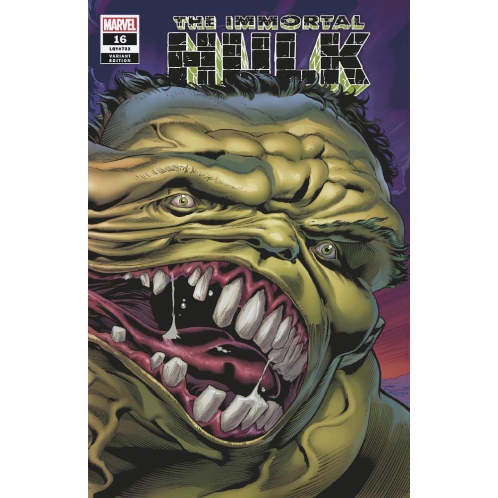 Immortal Hulk 16 Bennett Wraparound 1:25 Variant