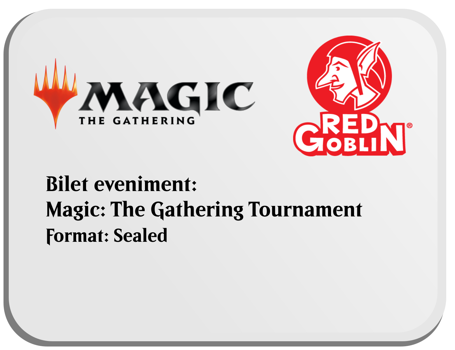 Bilet Eveniment Magic: the Gathering - 2HG Sealed