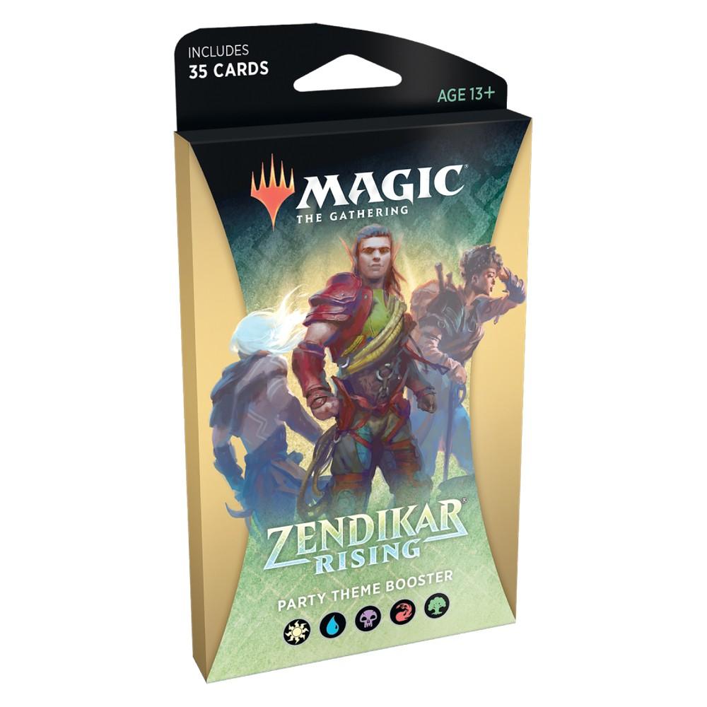 Magic the Gathering Zendikar Rising Theme Booster Party