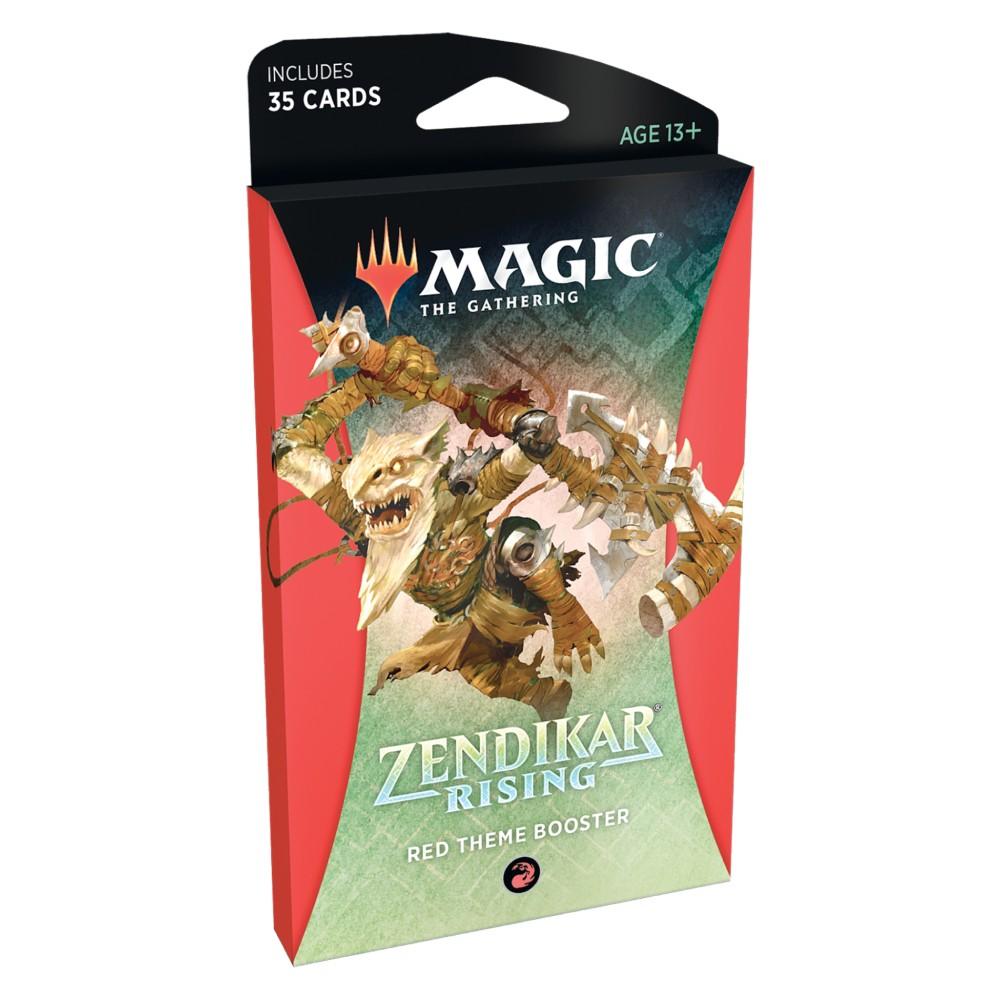 Magic the Gathering Zendikar Rising Theme Booster Red