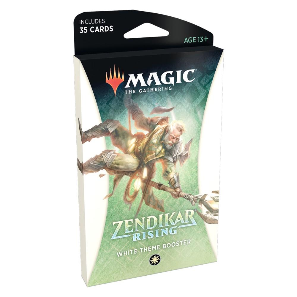 Magic the Gathering Zendikar Rising Theme Booster White