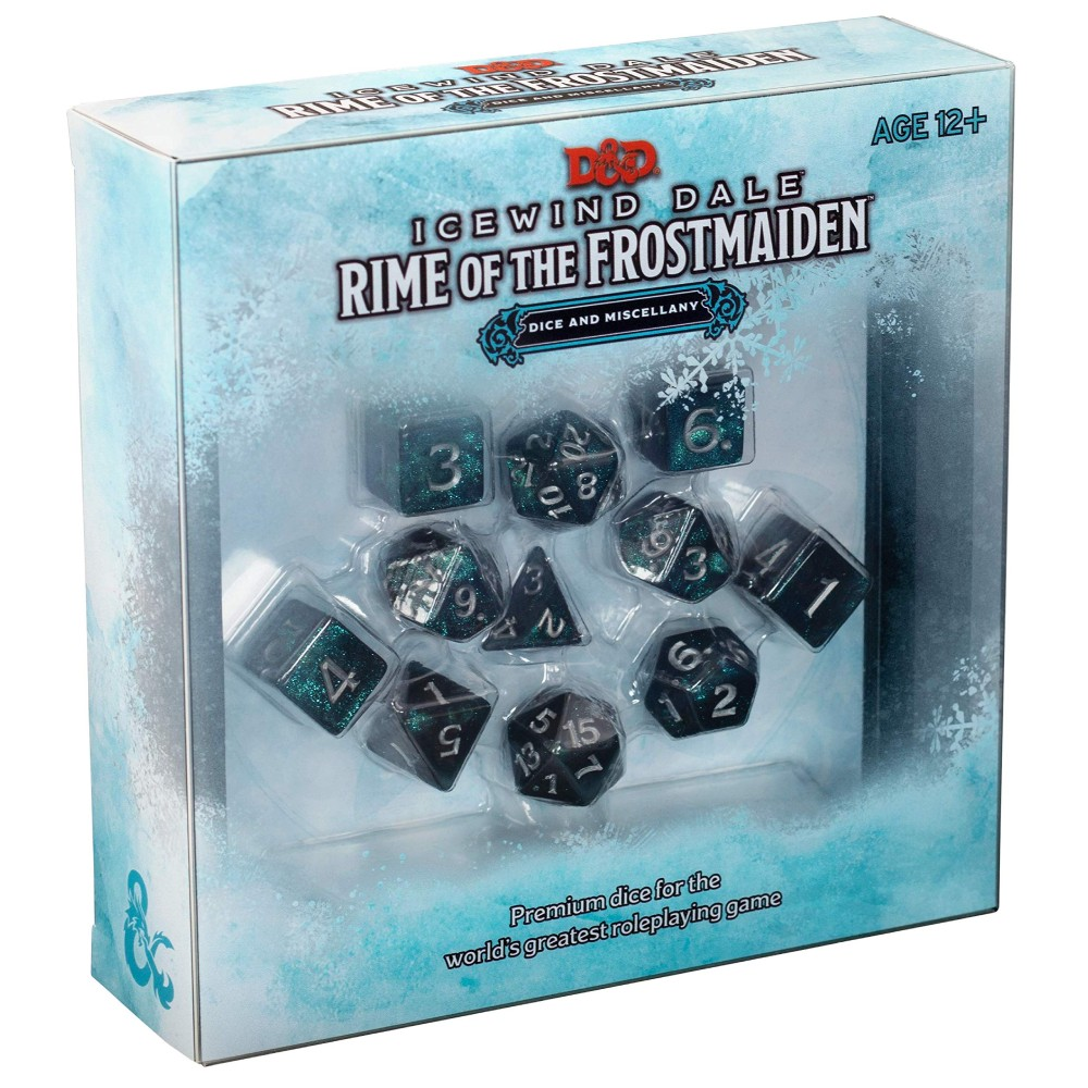 Set Zaruri si Accesorii Dungeons & Dragons Icewind Dale Rime of the Frostmaiden