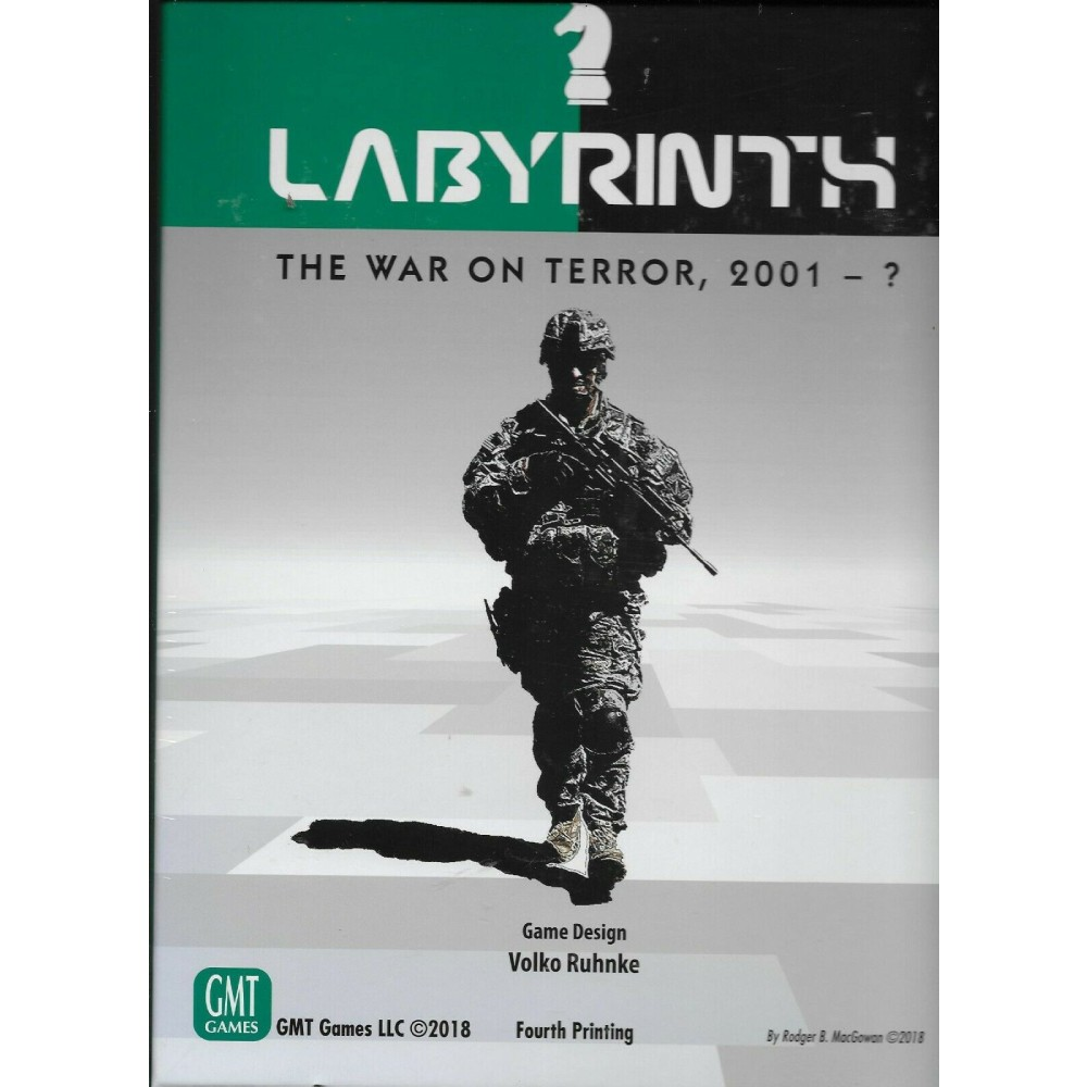 Labyrinth The War on Terror 4th Printing