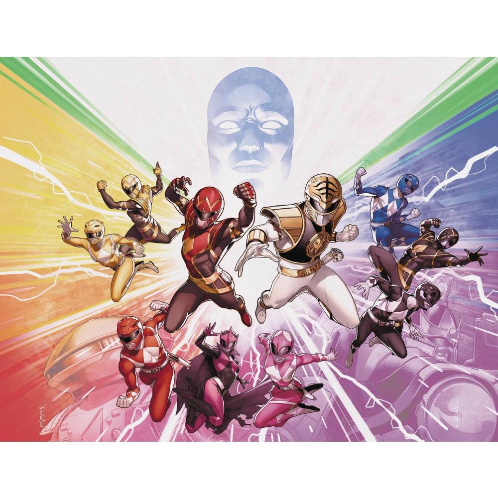 Mighty Morphin Power Rangers 50 Foil Wraparound Variant