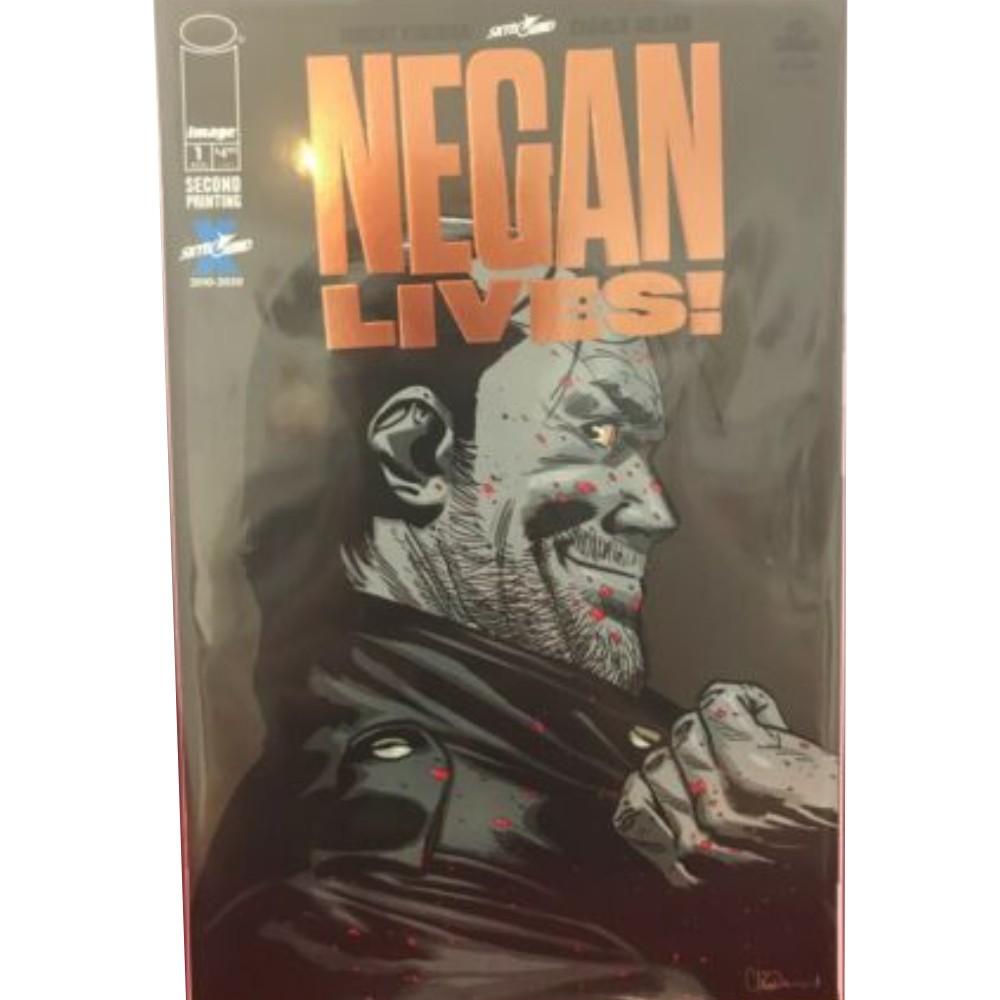 Negan Lives 01 Retailer Thank You Variant Bronze