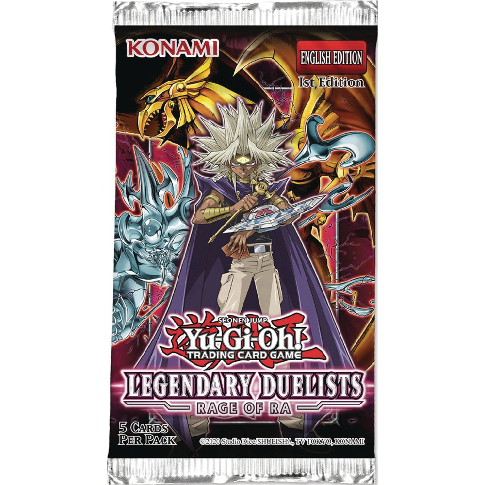 Booster Pack Yu-Gi-Oh! Legendary Duelists 7 Rage of Ra