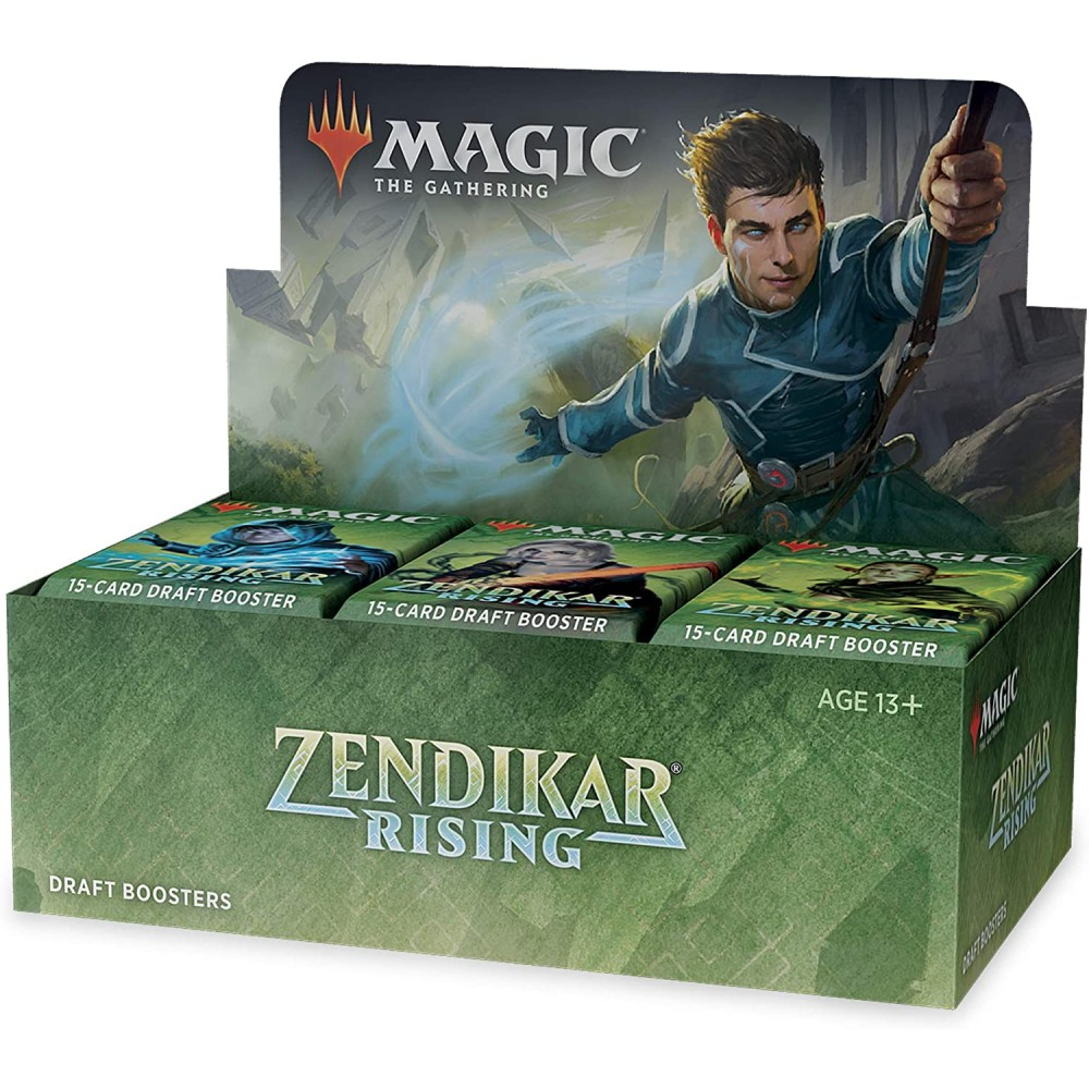 Magic the Gathering Zendikar Rising Draft Booster Box