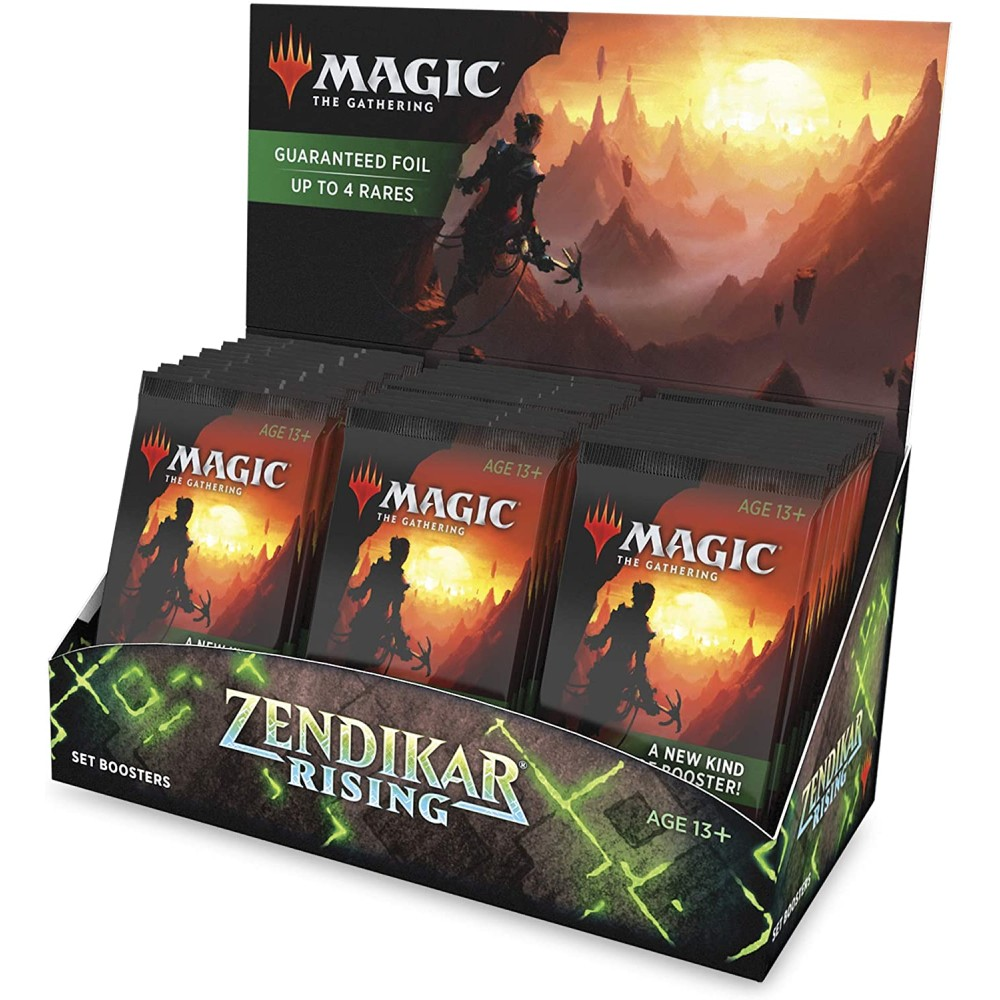 Magic the Gathering Zendikar Rising Set Booster Box