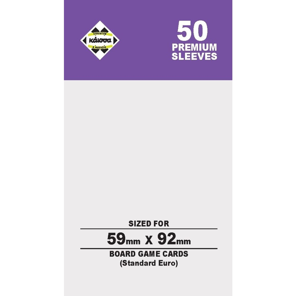 Sleeve-uri Mayday Games Premium Standard Euro (50)