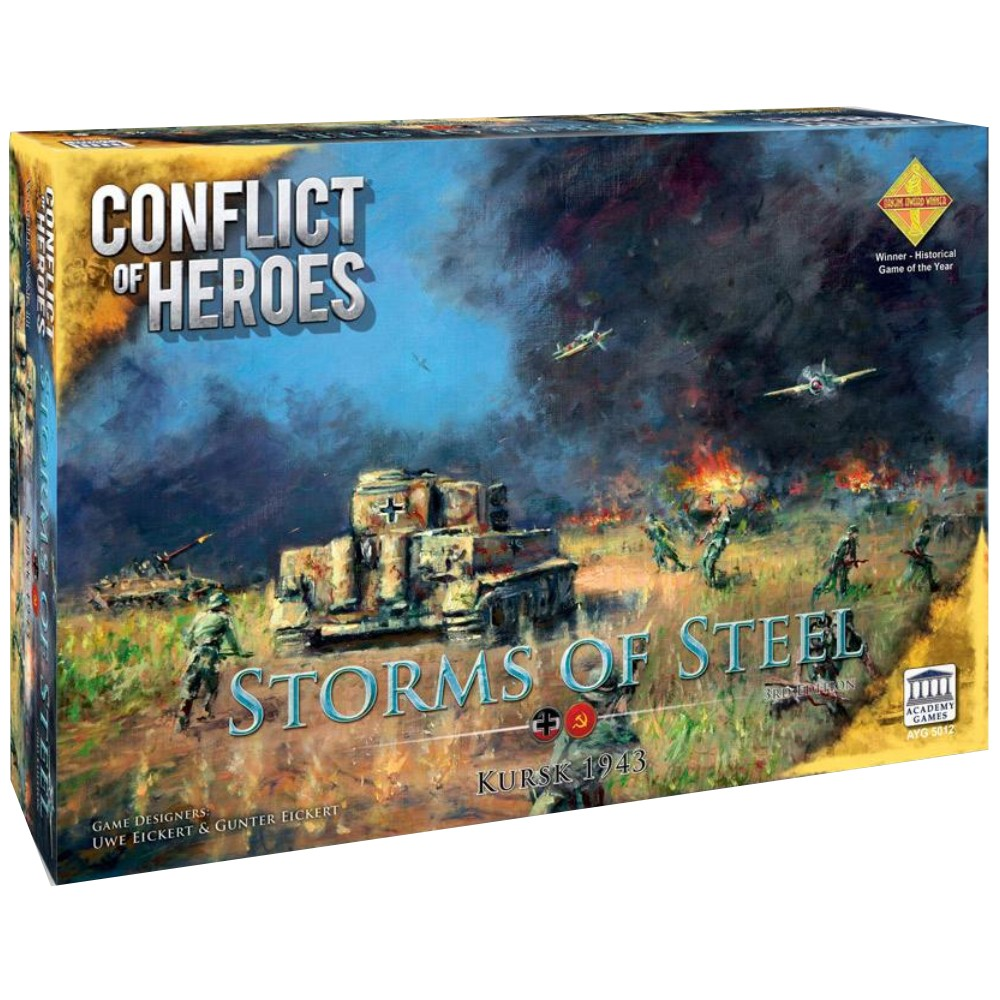 Conflict of Heroes Storms of Steel (Third Edition)