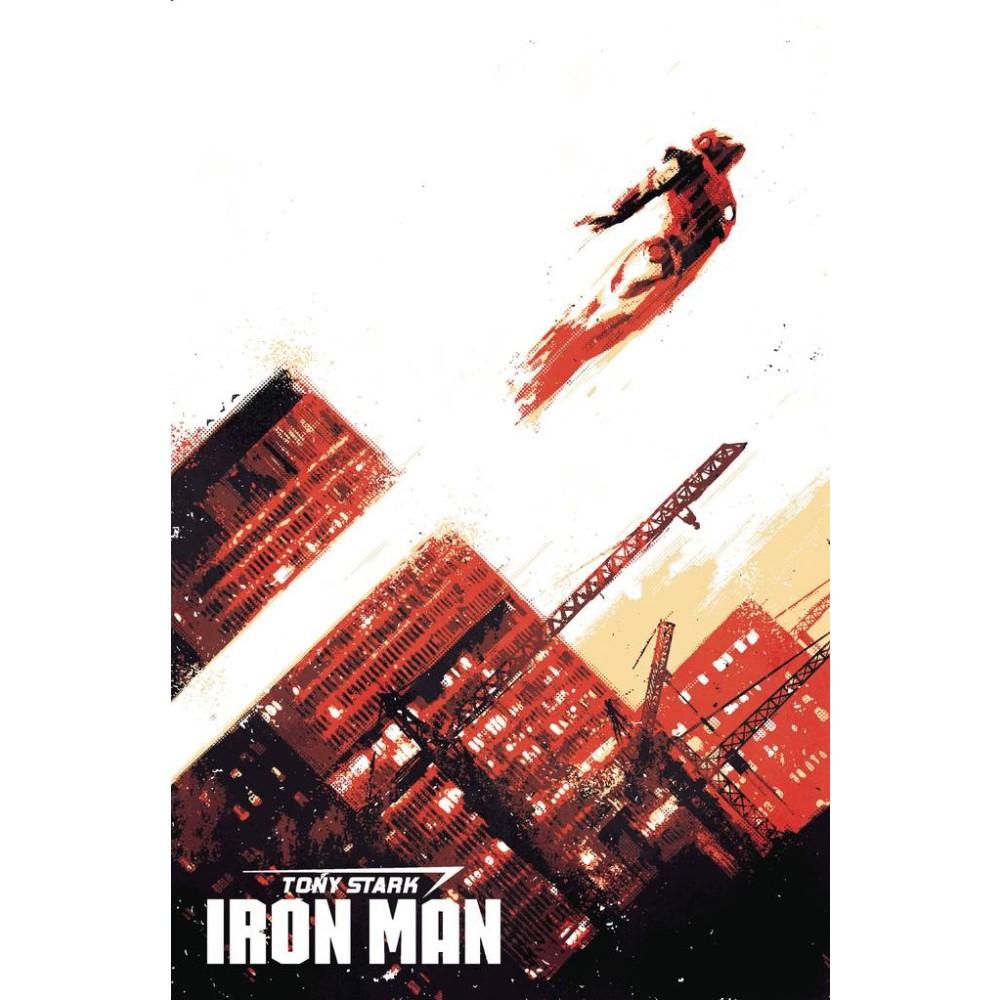 Tony Stark Iron Man 01 1:100 David Aja Variant