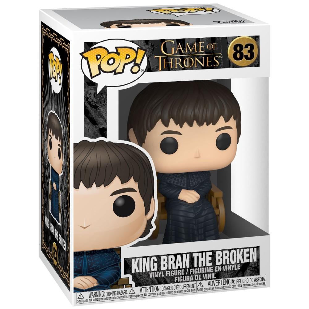 Figurina Funko Pop Game of Thrones King Bran The Broken - 1