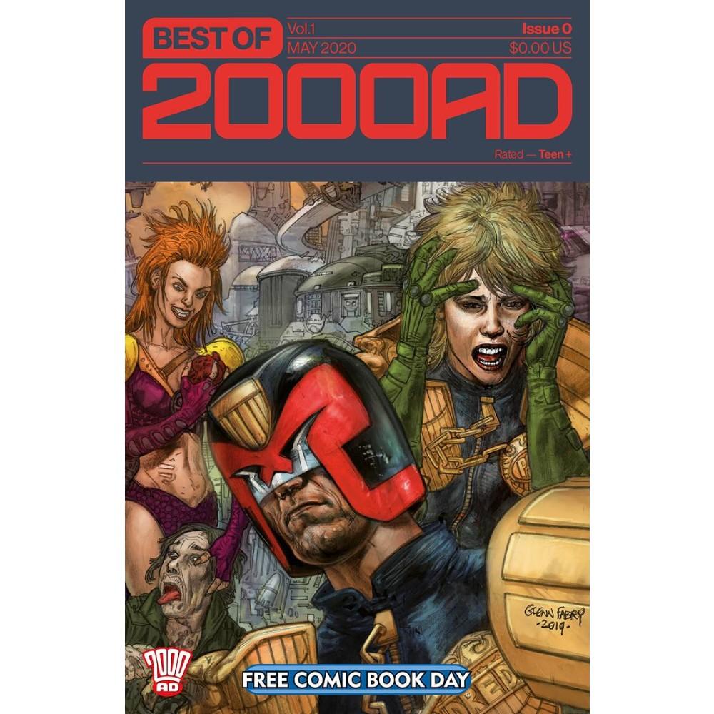 FCBD 2020 Best of 2000 AD 00