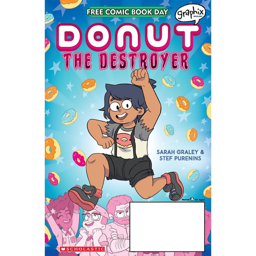 FCBD 2020 Donut The Destroyer