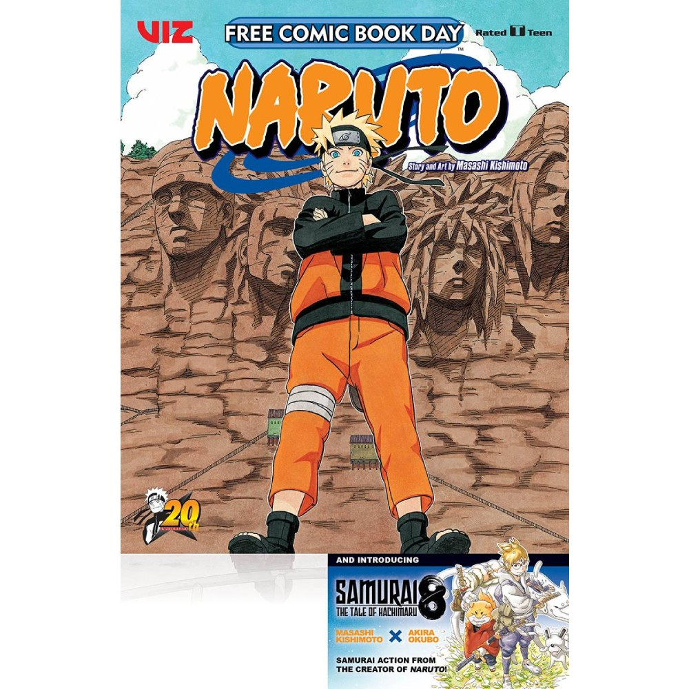 FCBD 2020 Naruto Samurai 8 Viz Manga