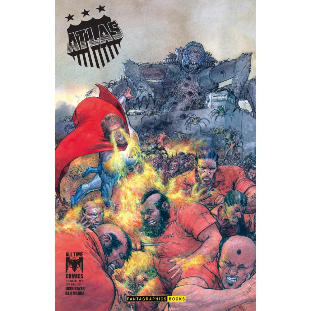 All Time Comics Atlas 01 Coperta B imagine