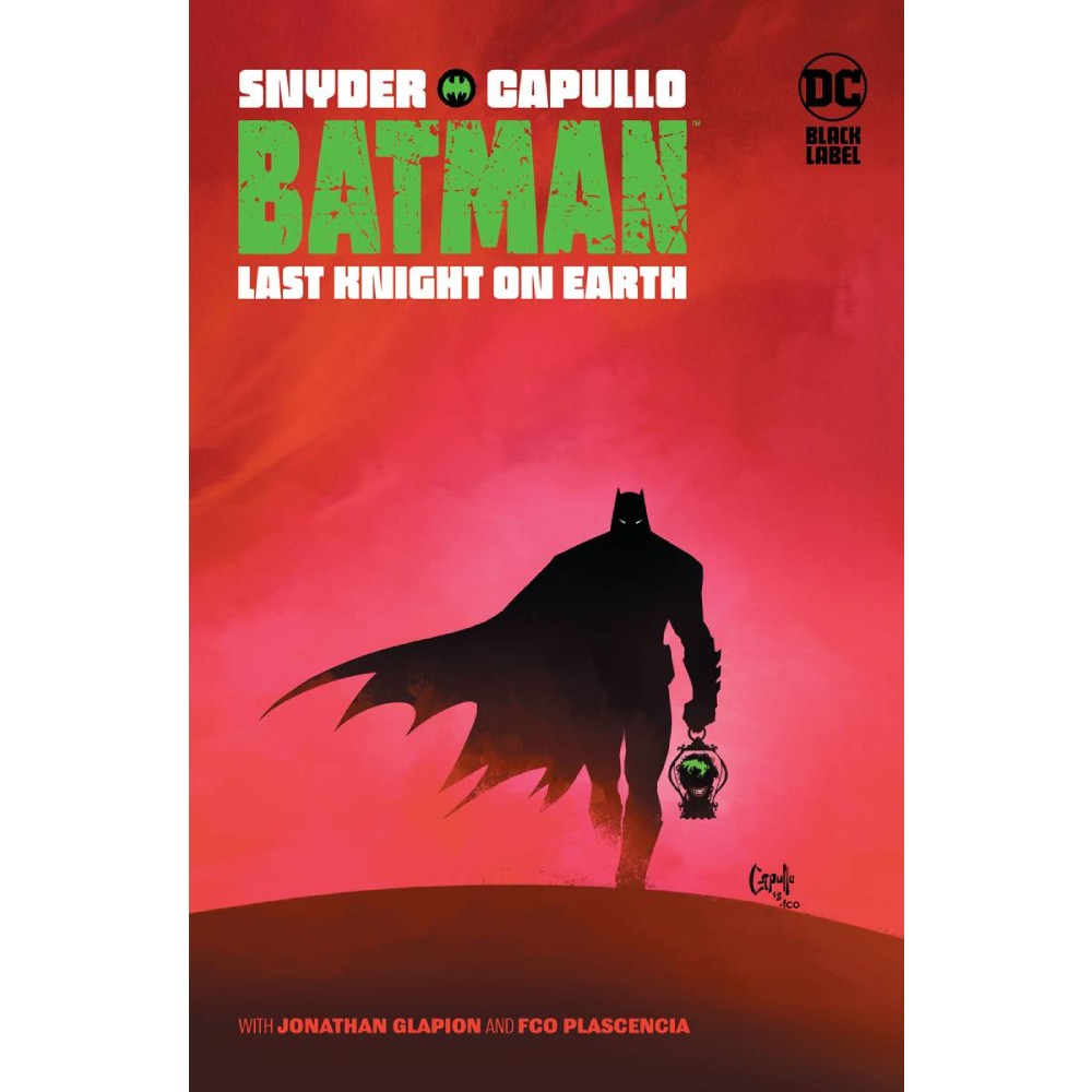 Batman Last Knight On Earth HC imagine