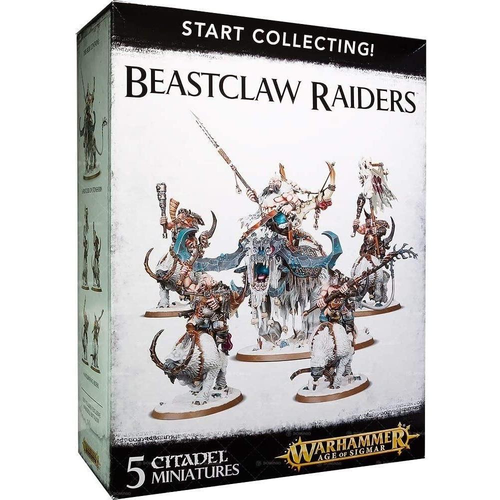 Warhammer Start Collecting Beastclaw Raiders