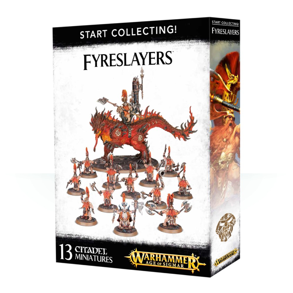 Warhammer Start Collecting Fyreslayers