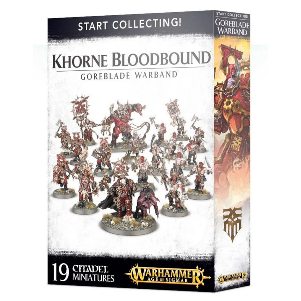 Warhammer Start Collecting Goreblade Warband