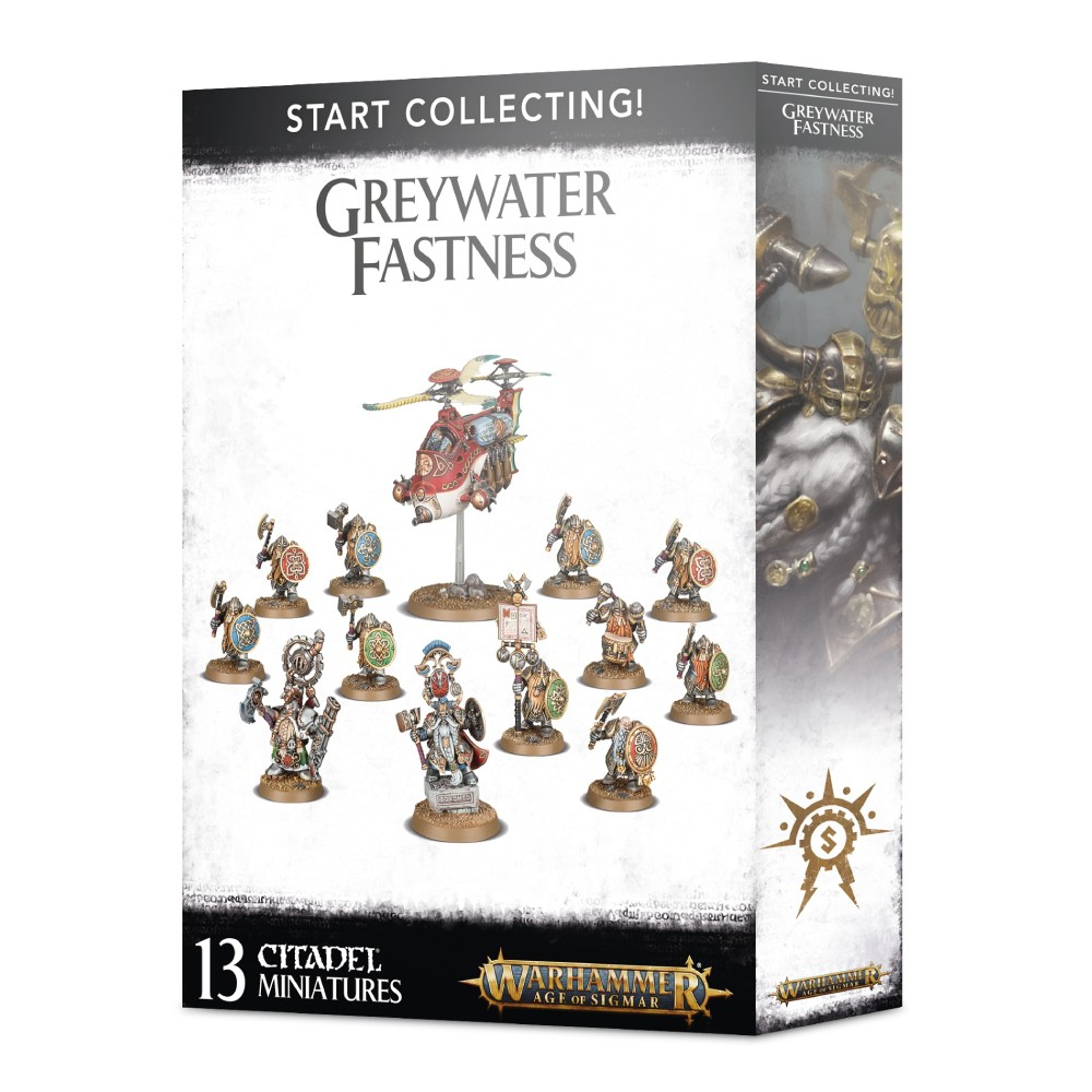Warhammer Start Collecting Greywater Fastness