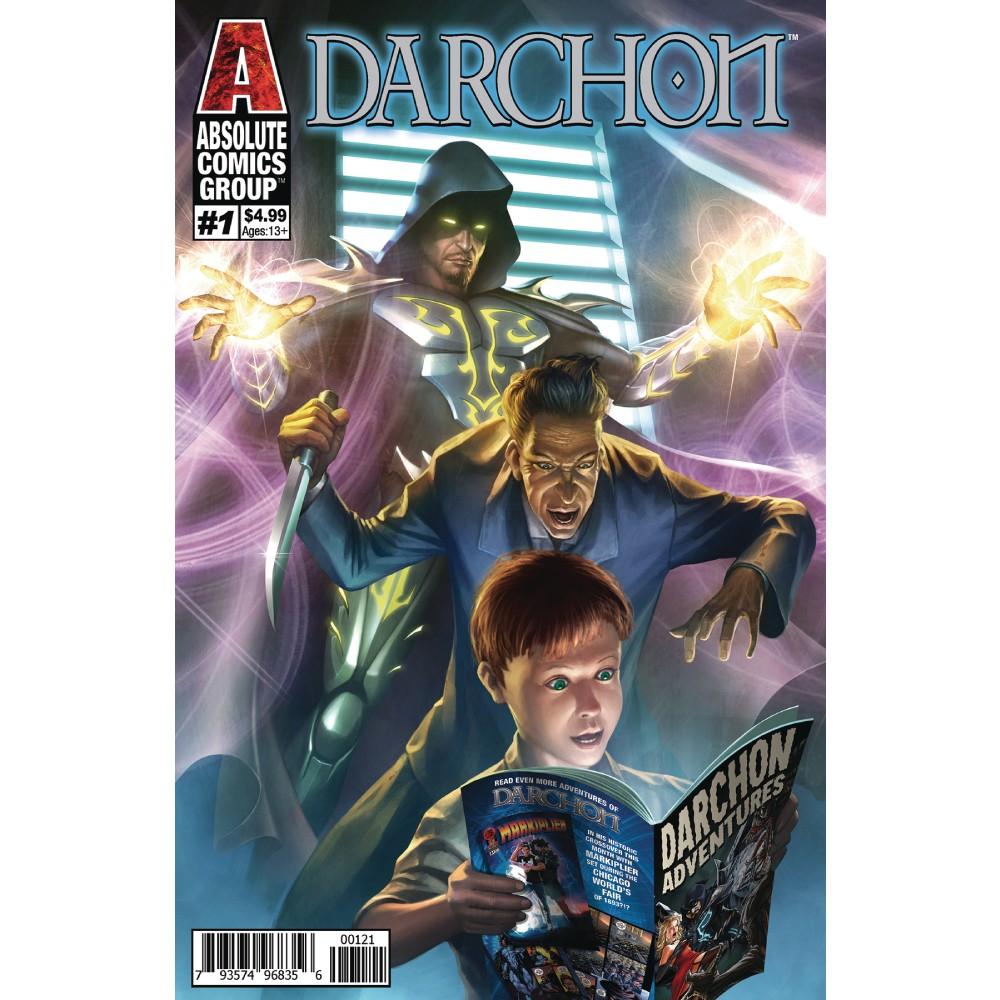 Darchon 01 Holographic Silver Foil Cover