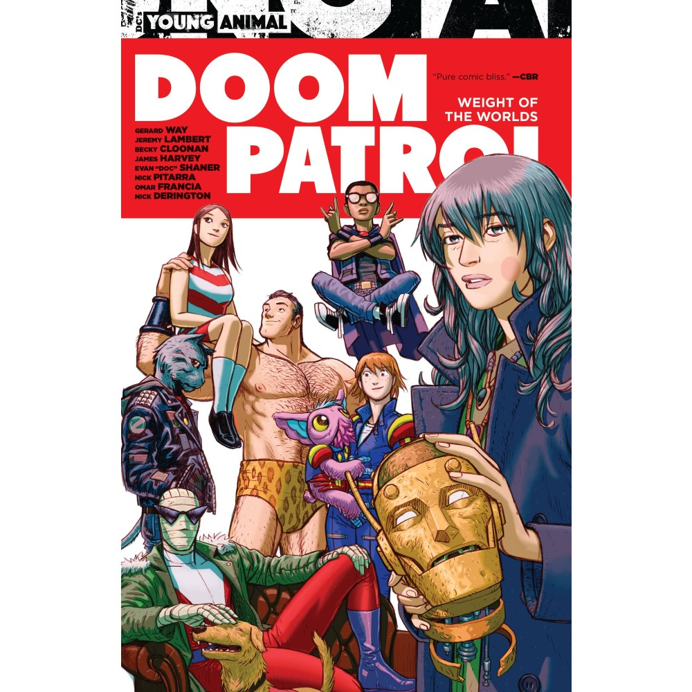 Doom Patrol Weight of The World TP
