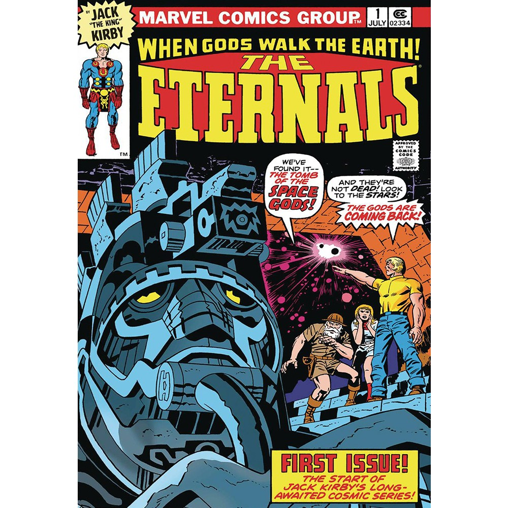 Eternals by Kirby Complete Collection TP Coperta A