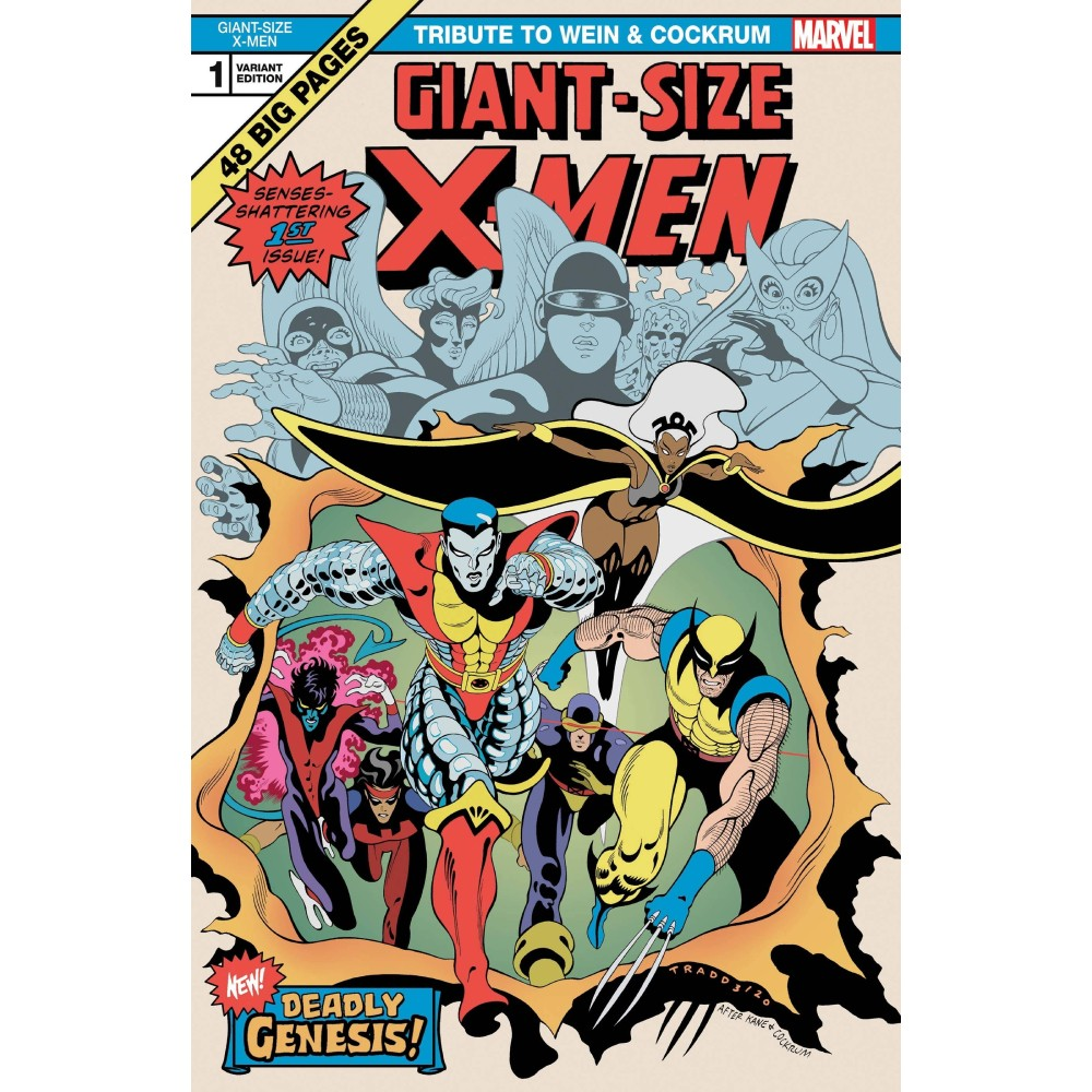 Giant Size X-Men Tribute Wein & Cockrum 01 Coperta B