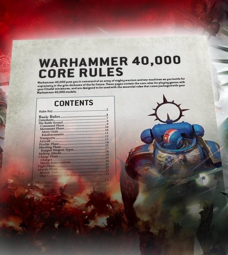 Regulamentul Warhammer 40,000 varianta digitala (limba romana)