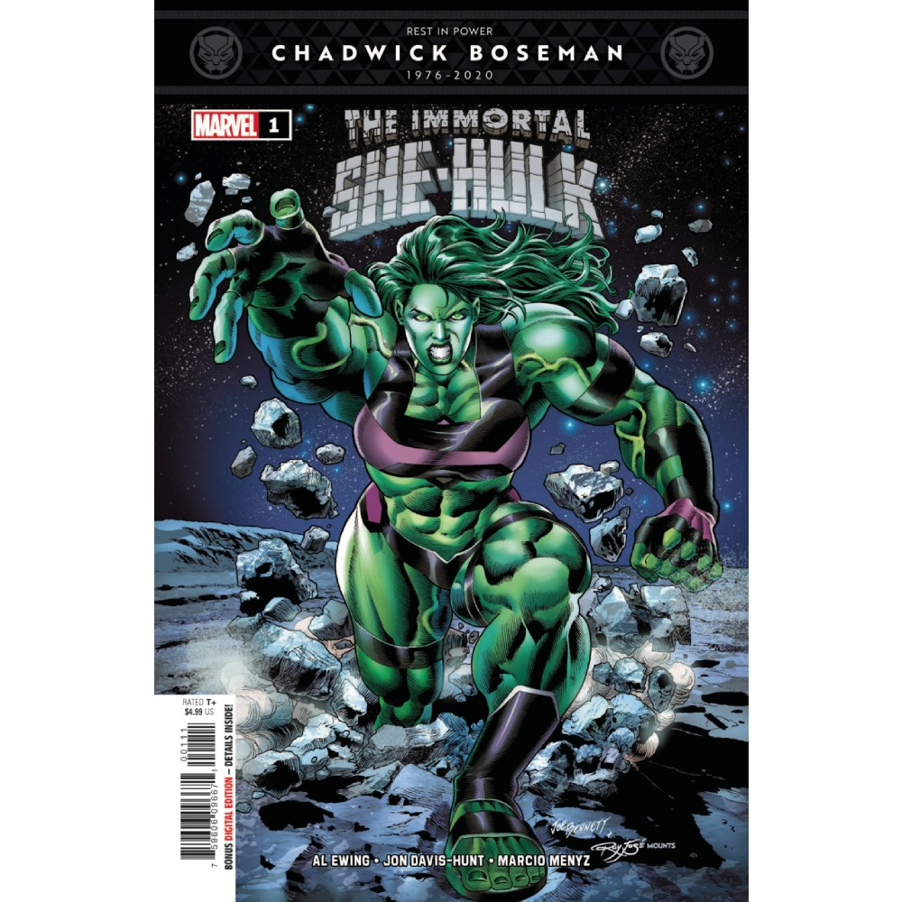 Immortal She-Hulk 01 Coperta B