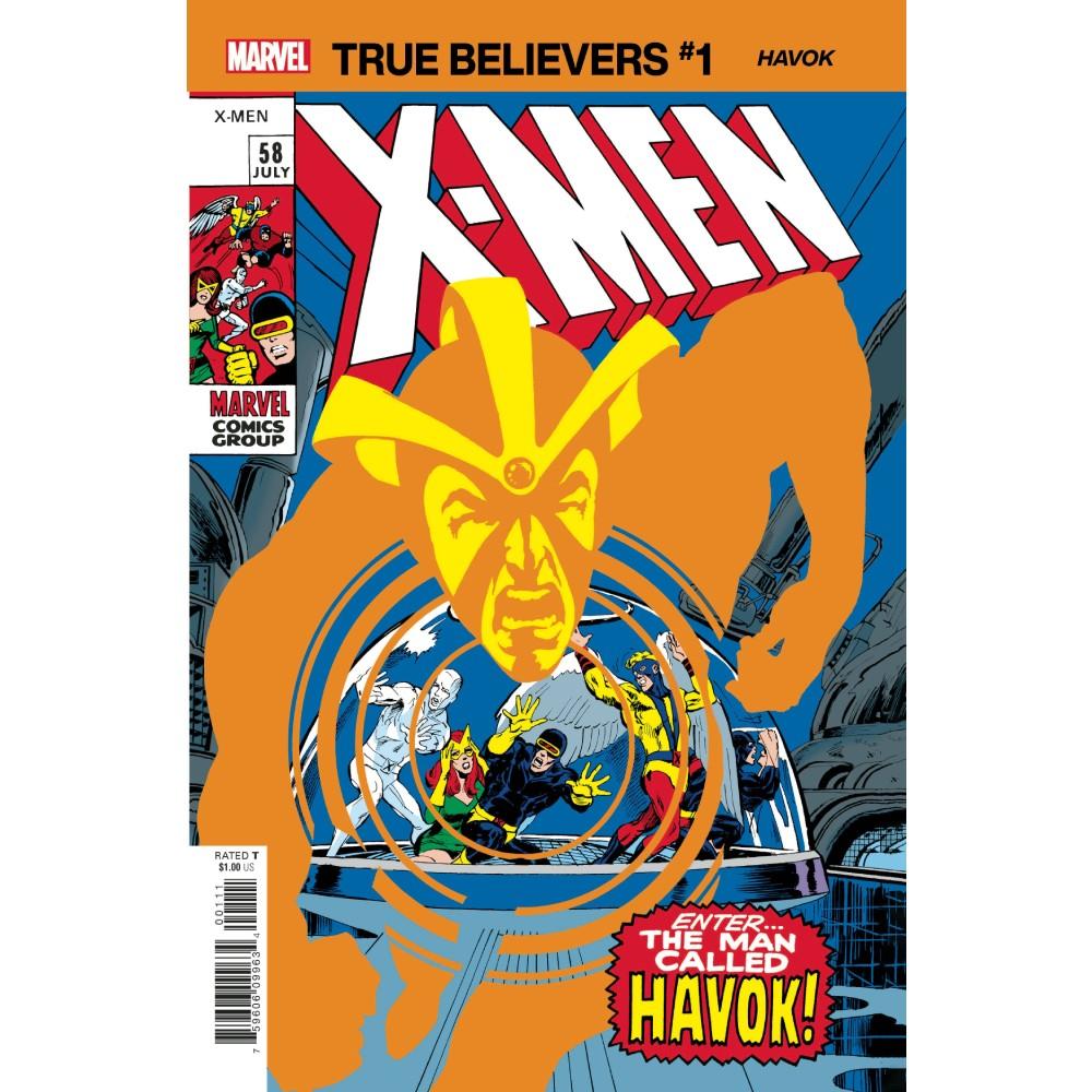 True Believers X-Men Havok 01