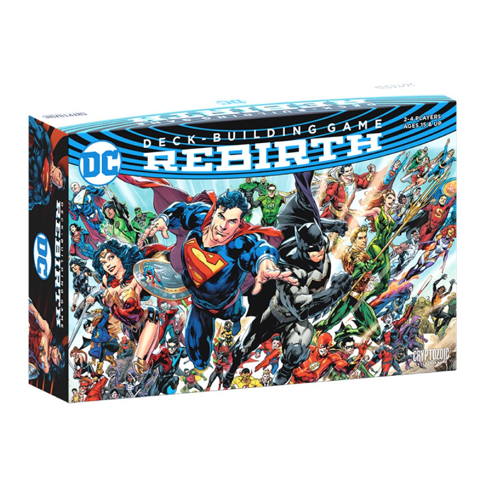 DC Comics Deck-Building Game Rebirth
