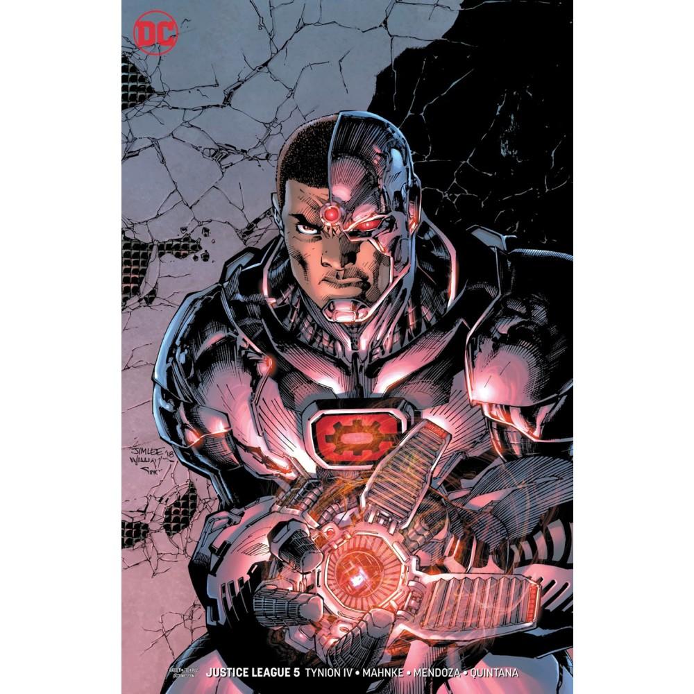 Justice League (2018) 05 var cover