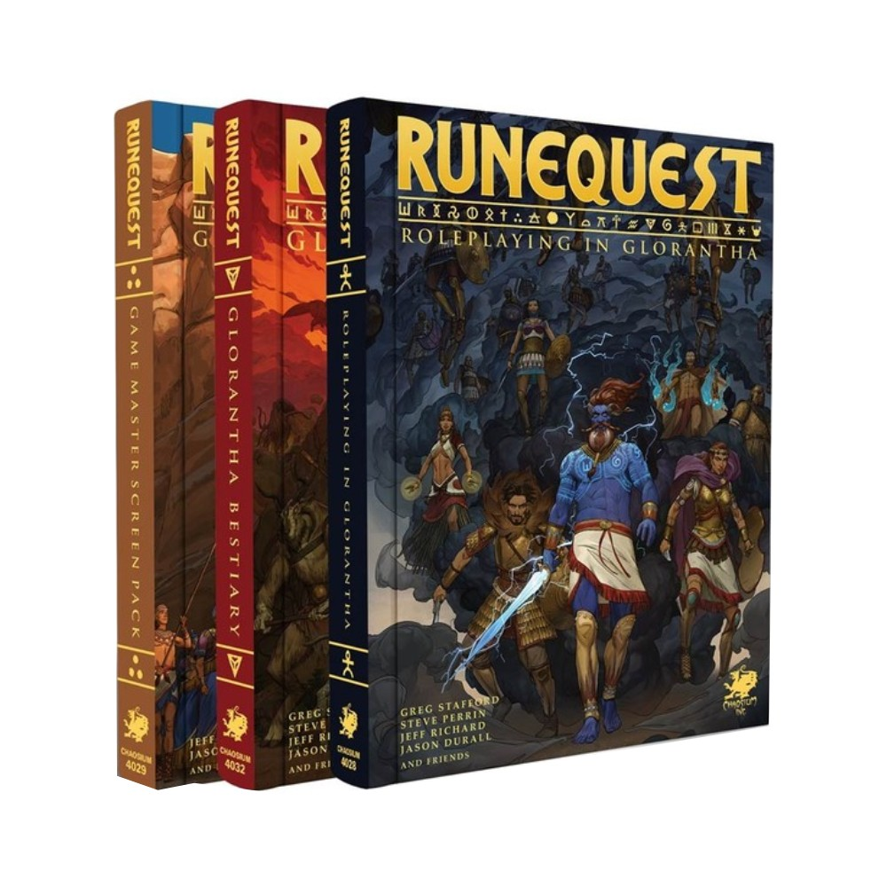 RuneQuest Roleplaying in Glorantha Slipcase Set