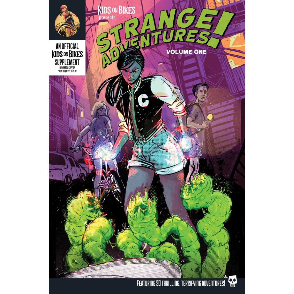 Kids on Bikes RPG Strange Adventures Vol 1 (Softcover)