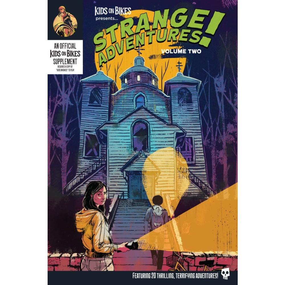Kids on Bikes RPG Strange Adventures Vol 2 (Softcover)